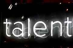 The Talent in Neon- Maryalena