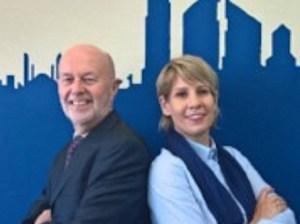David Rigby and Helen Morris