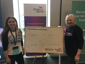 Being a Positive Disruptor for TEDxBristol 2017