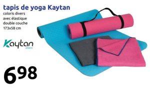 action tapis de yoga kaytan 173 x 58