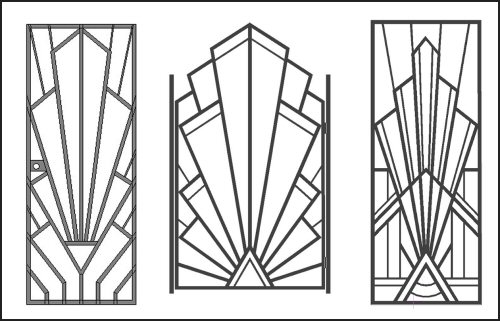 PLAZA Art Deco Security Bars and Grilles