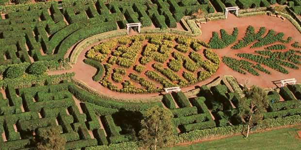 How Build Garden Maze