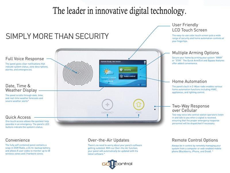 home security systems mansfield ohio