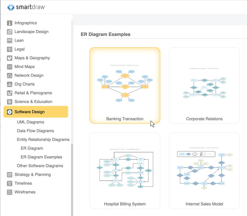 ER Diagram Tool   Free Download & Online App