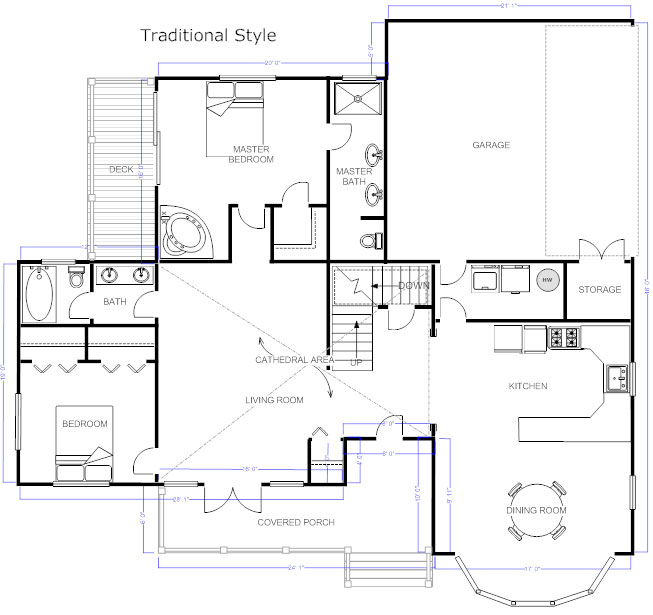 how to draw house wiring diagram forest river rv diagrams floor plans - learn design and plan