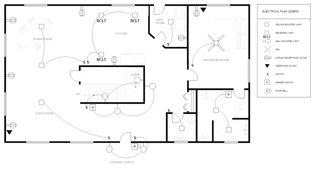Electric Diagram Of House Wiring Electrical Symbols Fan Motor Technical Drawing Free Technical Drawing Online Or Download