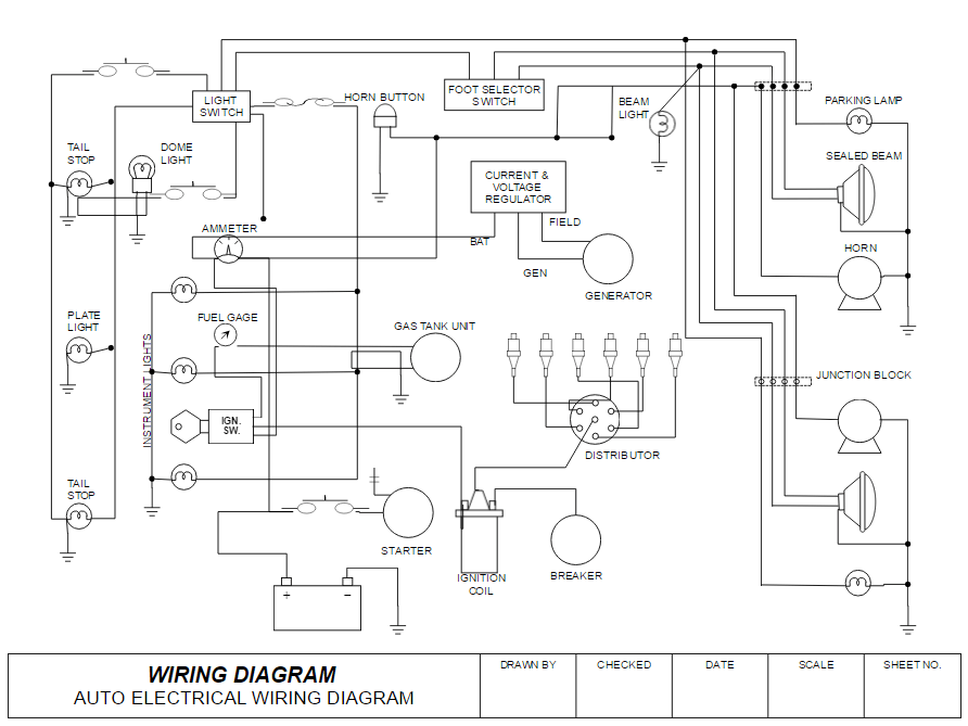 wiring diagram example?resize=720%2C540&ssl=1 wiring a bedroom diagram wiring code for bedrooms, electrical panel wiring diagram example at gsmx.co