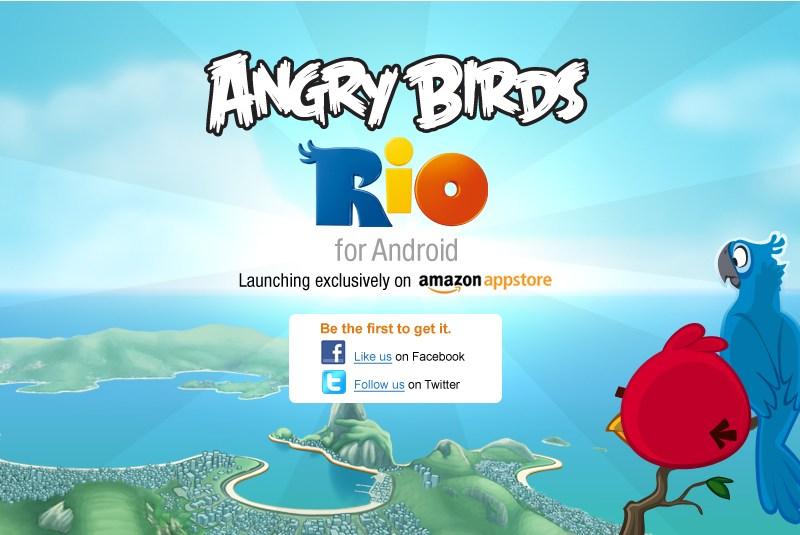 Angry Birds Rio Amazon