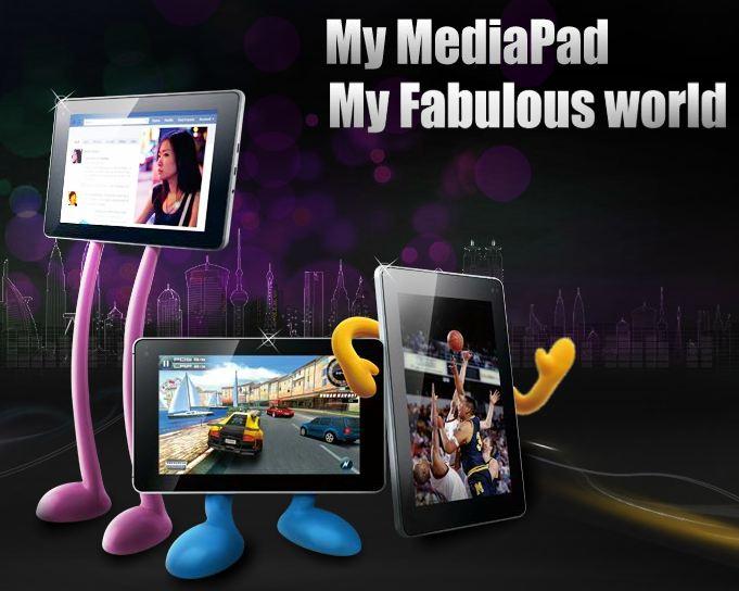 mediapad produktseite