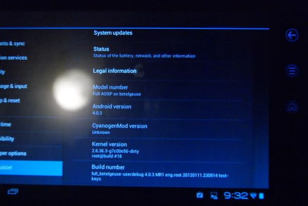 dell streak 7 ics