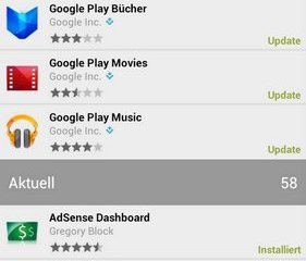 google play-updates
