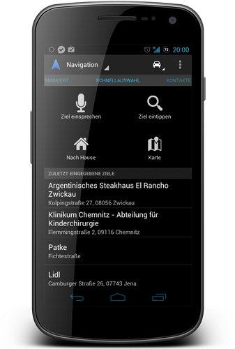 navigation update maerz 2012