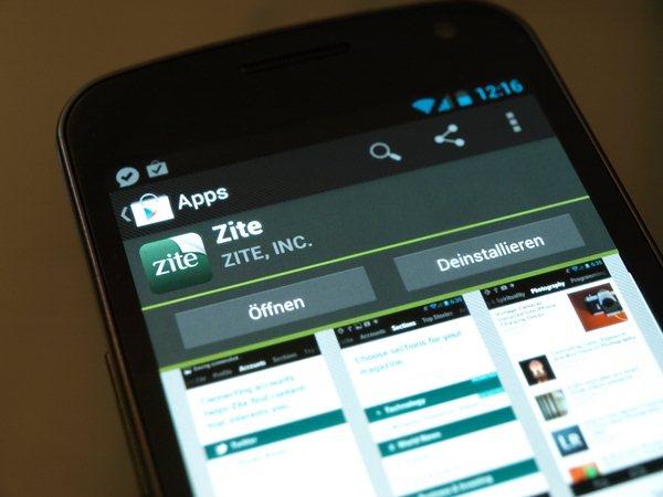 Zite für Android