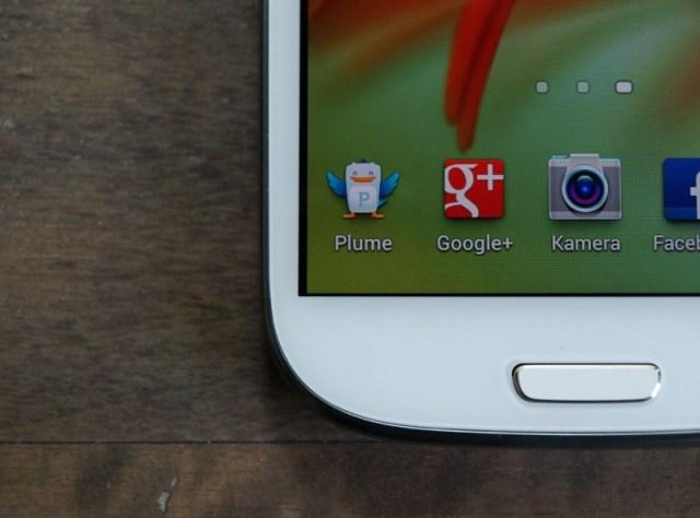 Galaxy S3 Display-Rahmen