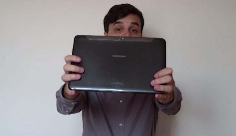 Galaxy Tab 10.1 video ueberarbeitet