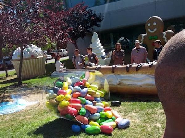 jelly bean google campus