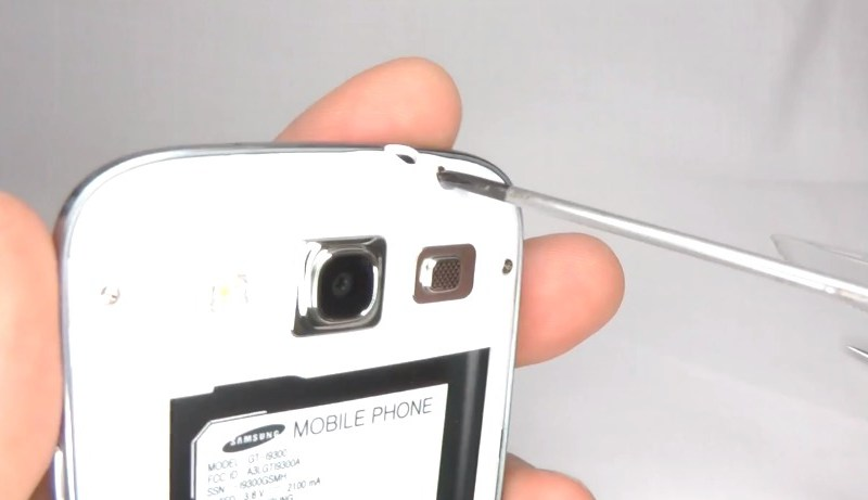 Samsung Galaxy S3 Disassembly - Screen Repair Replace LCD AMOLED or Touch Screen Digitizer - YouTube-133800