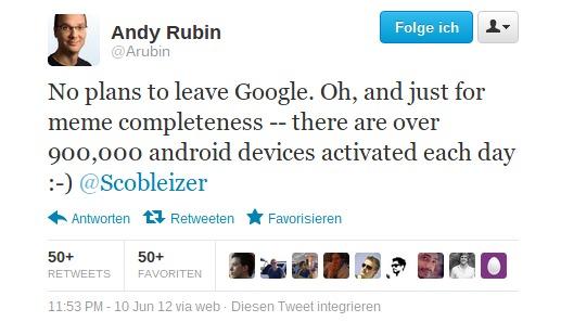 Twitter Arubin No plans to leave Google.-093243