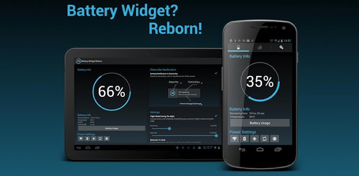 Battery Widget Reborn Header