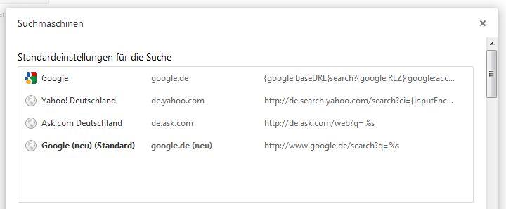 google-suche-chrome