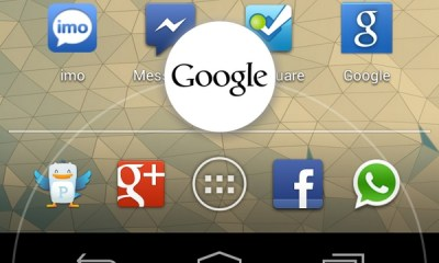 Jelly Bean - Google Now Swipe
