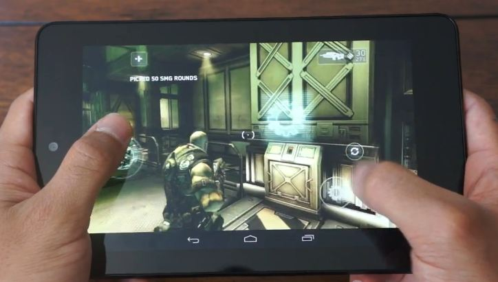nexus 7 gaming-test
