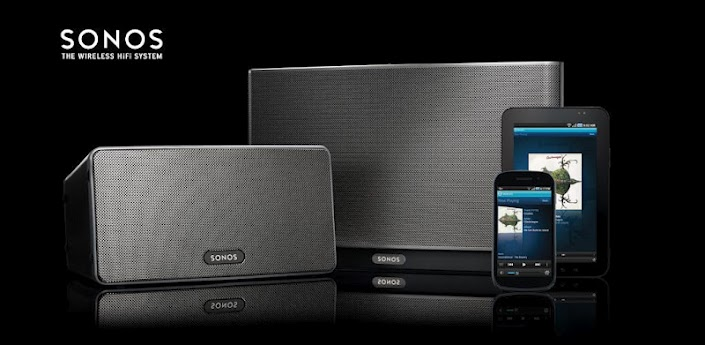 Sonos Controller Android Header