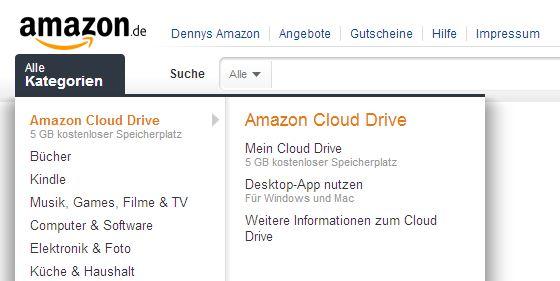 amazon cloud drive in deutschland
