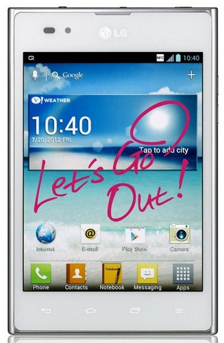 LG Optimus Vu Lets go out