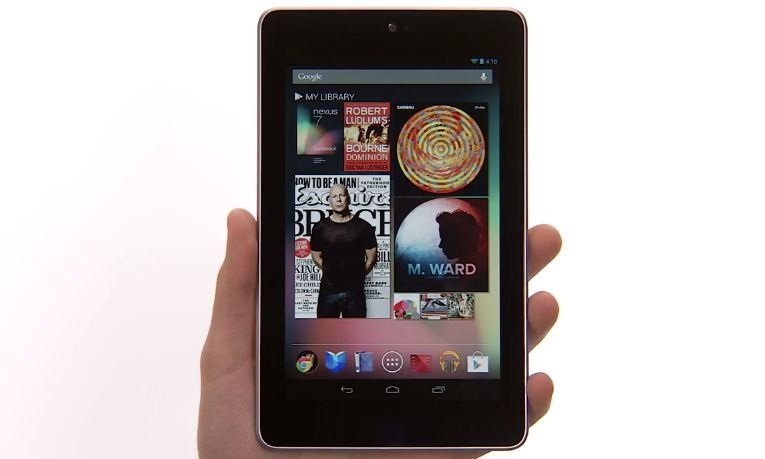 nexus 7 jelly bean features video