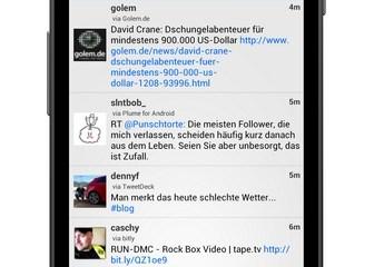 TweetLine Screenshot