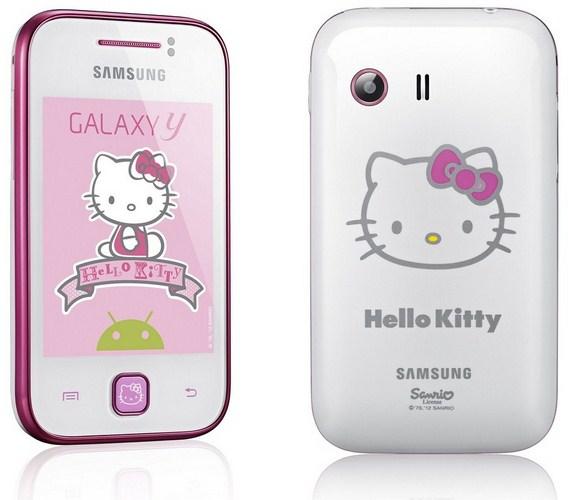 Galaxy Y Hello Kitty Edition