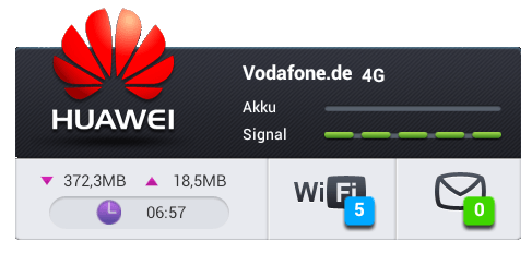 HUAWEI Mobile WiFi_Screen
