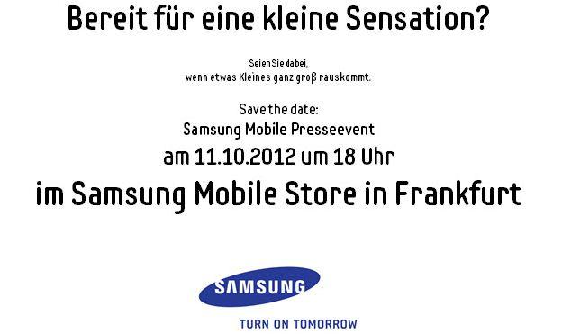 samsung event 11. oktober frankfurt