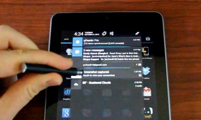 Android 4.1.2 benachrichtigungen video screenshot