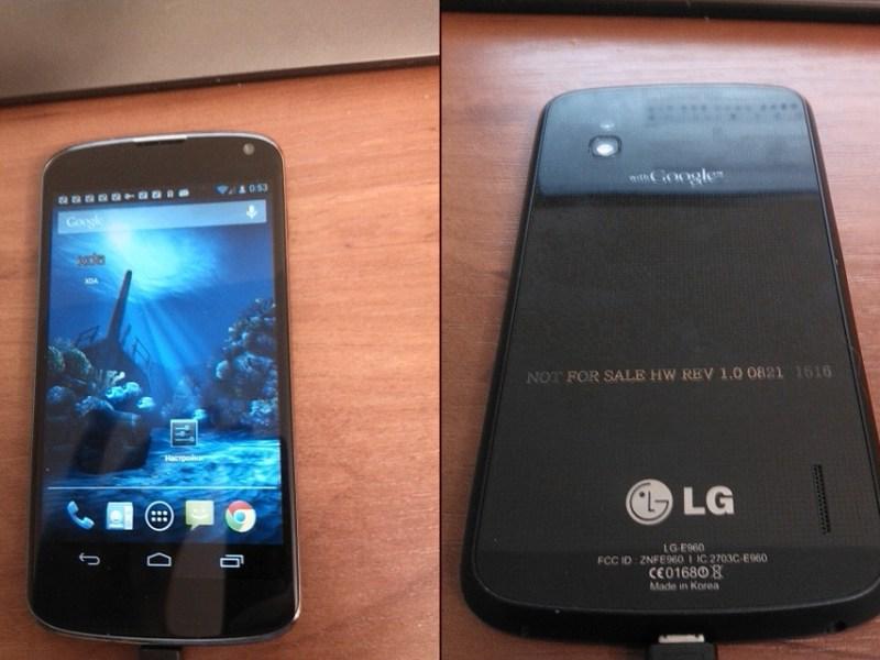 LG Optimus Nexus LE960 Leak-Fotos