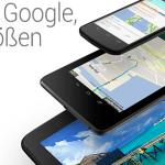 Nexus 4, Nexus 7, Nexus 10 Produktbild Header