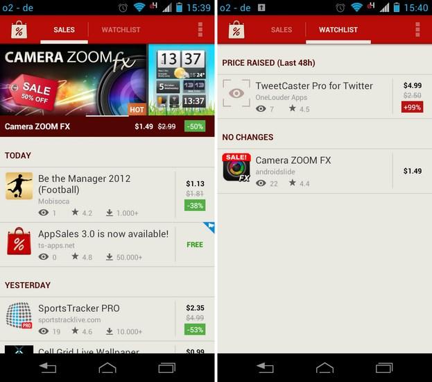 AppSales 3.0 Screenshot