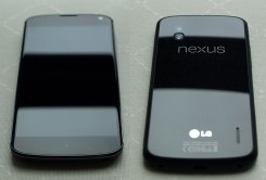 Nexus 4 Vorder- und Rückseite