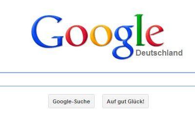 Google Suche Screenshot