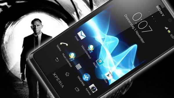James Bond Xperia T Skyfall Teaser