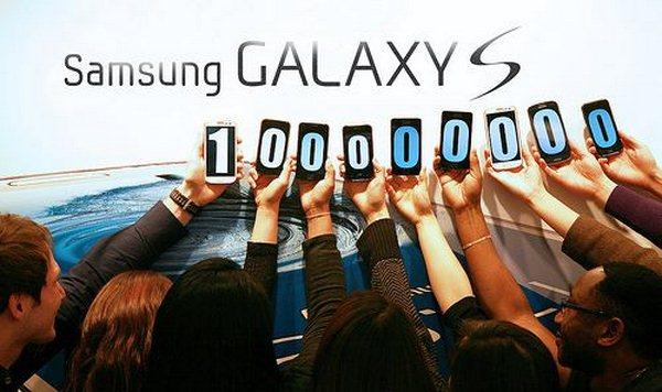 galaxy s 100 millionen verkaeufe