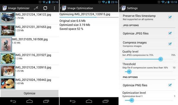Image Optimizer Screenshots