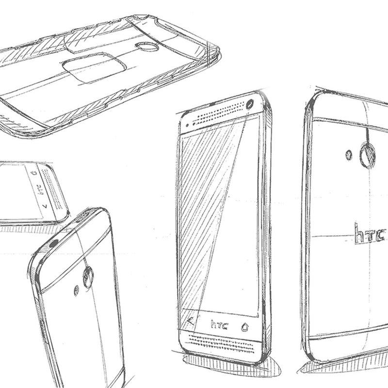 HTC One: Neue Kennenlernseite und ein paar Design-Skizzen