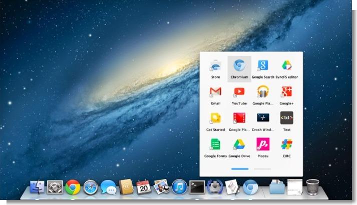 Chrome App Launcher MacOS