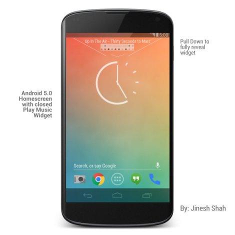 Android_5.0_Music_Widget_Closed