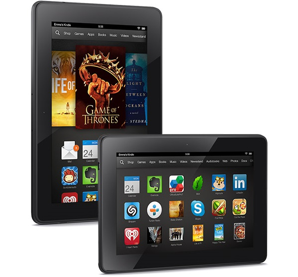 Amazon Kindle Fire HDX Produktbild