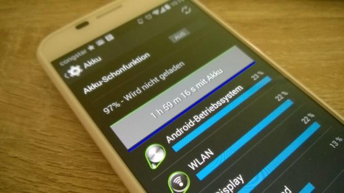 Android 4.4.2 Akku