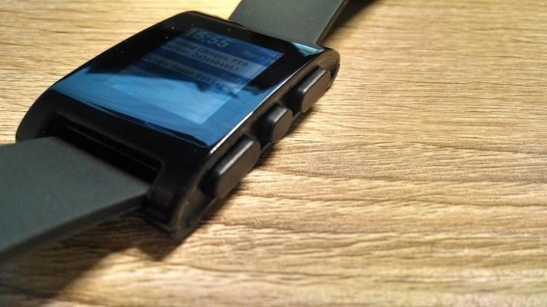 Pebble Smartwatch Test