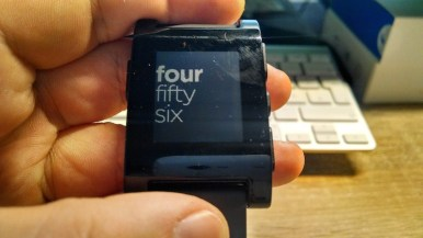 Pebble Smartwatch Test
